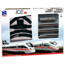 ICE Deutsche Bahn Modell Zug Set mit Schienen Batteriebetrieben