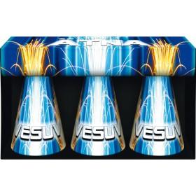 Vulkan Feuerwerk Set 3er Packung