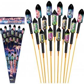 Funtastic Rockets Feuerwerk Set
