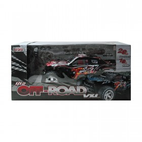 RC Buggy rot-schwarz mit LED 1:12 RC OFF ROAD