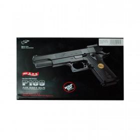 Softair Pistole, Inklusive Munition, schwarz 1:1 Maßstab