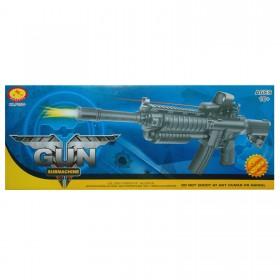 Softair Maschinen Gewehr Inklusive Munition, schwarz