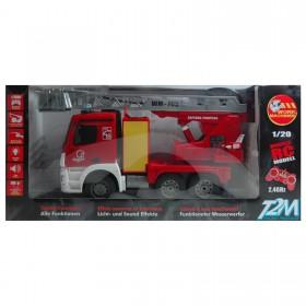 RC Feuerwehrwagen mit Fernsteuerung, LED, Sound