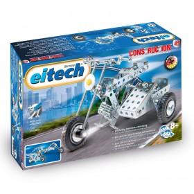 EITECH Starter Metallbaukasten Motorrad mit Beiwagen