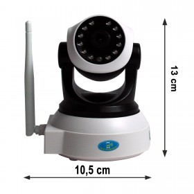 Wireless HD Indoor IP Camera, Infrarotsensor, komplett mit Zubehör