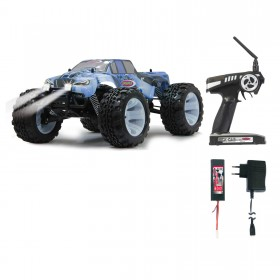 RC Tiger Ice - Mit LED Brushless blau + Pistolen Fernbedienung