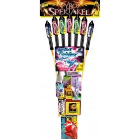 Pyro Feuerwerk Mix