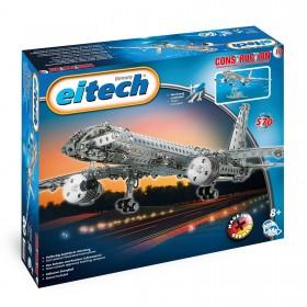 EITECH Metallbaukasten Flugzeug 570 Teile