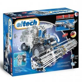 EITECH Metallbaukasten Mähdrescher/ Traktor + Anhänger