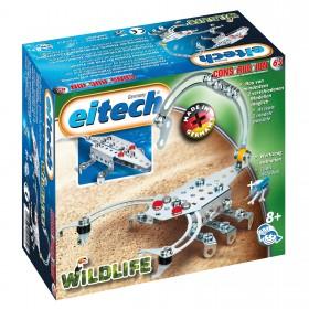 EITECH Metallbaukasten Skorpion + Krokodil Wildlife