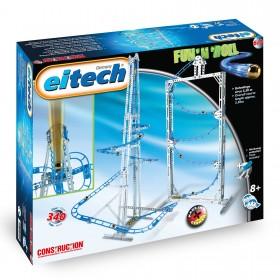 EITECH Metallbaukasten Kugelbahn Fun N Roll