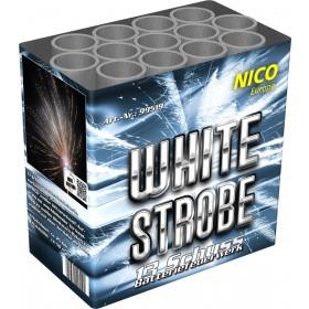 Batterie Feuerwerk White Strobe 13 Schuss