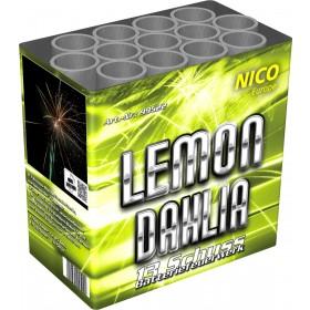 Feuerwerkbatterie Lemon Dahlia 13 Schuss