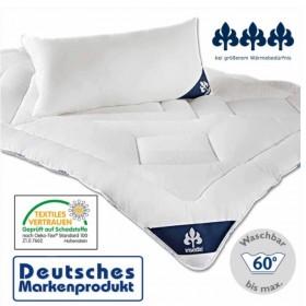 Badenia 4 Jahreszeiten Bettdecke 155x200 Baumwollbezug Irisette High Tech Faser