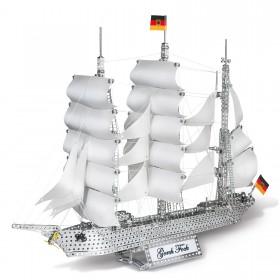 EITECH Metallbaukasten Segelschiff Gorch Fock 75cm