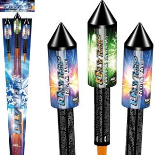 Olymp Raketen Feuerwerk Set 3-teilig