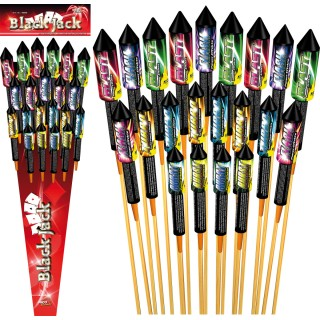 Black Jack Raketen Set
