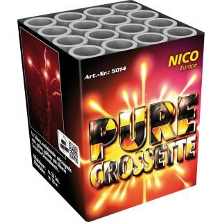 Batterie Feuerwerk Pure Crossette 16 Schuss