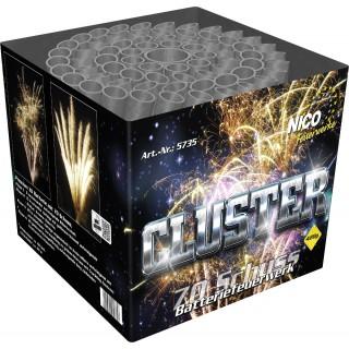 Batterie Feuerwerk Cluster 70 Schuss