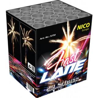 Batterie Feuerwerk Fast Lane 29 Schuss