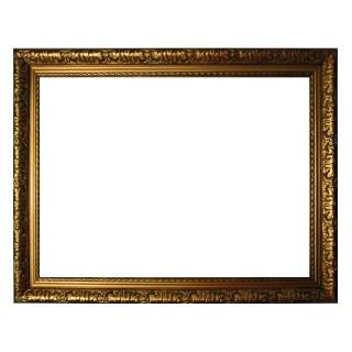 Barocker Bilderrahmen in gold fein verziert, Wechselrahmen