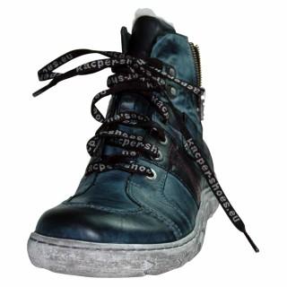 Kacper Damen Boots, dunkelblau mit Synthetik- Laufsohle
