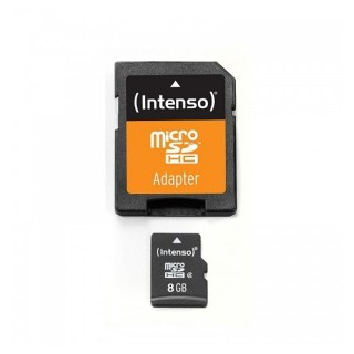 Intenso SD Card Micro 8GB  mit Adapter