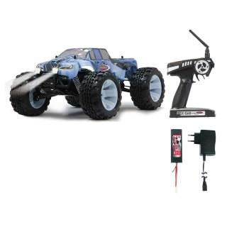RC Tiger Ice - Mit LED Brushless blau + Pistolen Fernbedienung