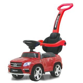Rutscher Mercedes GL 36 AMG Kinder Auto rot ab 1,5 Jahren geeignet mit Sicherheits Griff