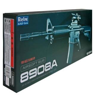 Softair Maschinengewehr Mit Federdruck, Reichweiter 50-60 Meter