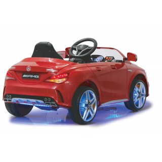 Mercedes AMG CLA Kiddycar/ Kinderauto rot mit Sicherheitsfernbedienung Maßstab 1:4