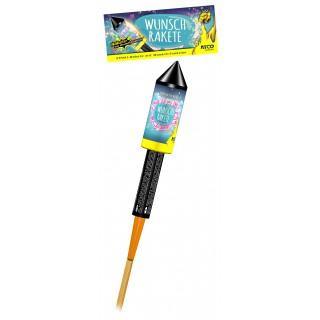 Feuerwerk Wunschrakete 1 Stück