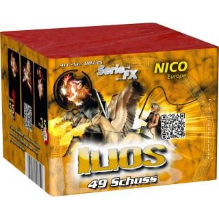 Batterie feuerwerk Ilios 49 Schuss