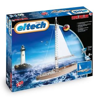 EITECH Metallbaukasten Boote, über 290 Bau Elemente