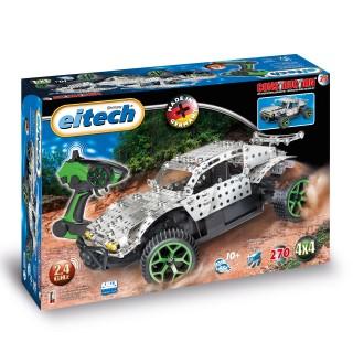 EITECH Metallbaukasten 2.4 GHz RC Desert Truck mit Fernsteuerung