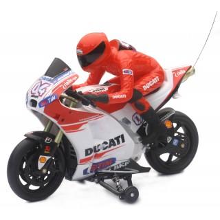 Ferngesteuertes Motorrad R/C DUCATI DESMOSESICI 1:9 27MHz
