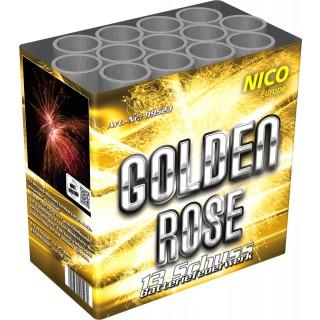 Batterie Feuerwerk Golden Rose 13 Schuss
