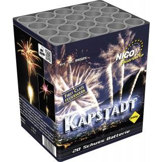 Batterie Kapstadt 20 Schuss Feuerwerk