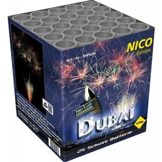 Batterie 25 Schuss Dubai Feuerwerk