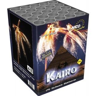 Batterie Kairo 25 Schuss Feuerwerk