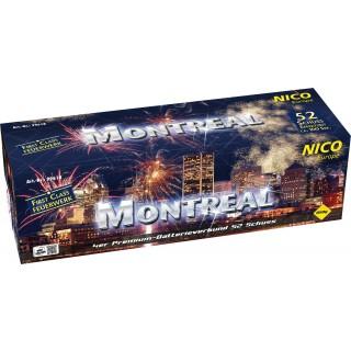 Feuerwerk Batterie Montreal 52 Schuss