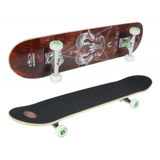"Bronx Skateboard 100% FSC Design ""Skate or Dir"""