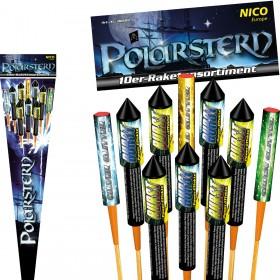 10 Raketen Feuerwerk Set